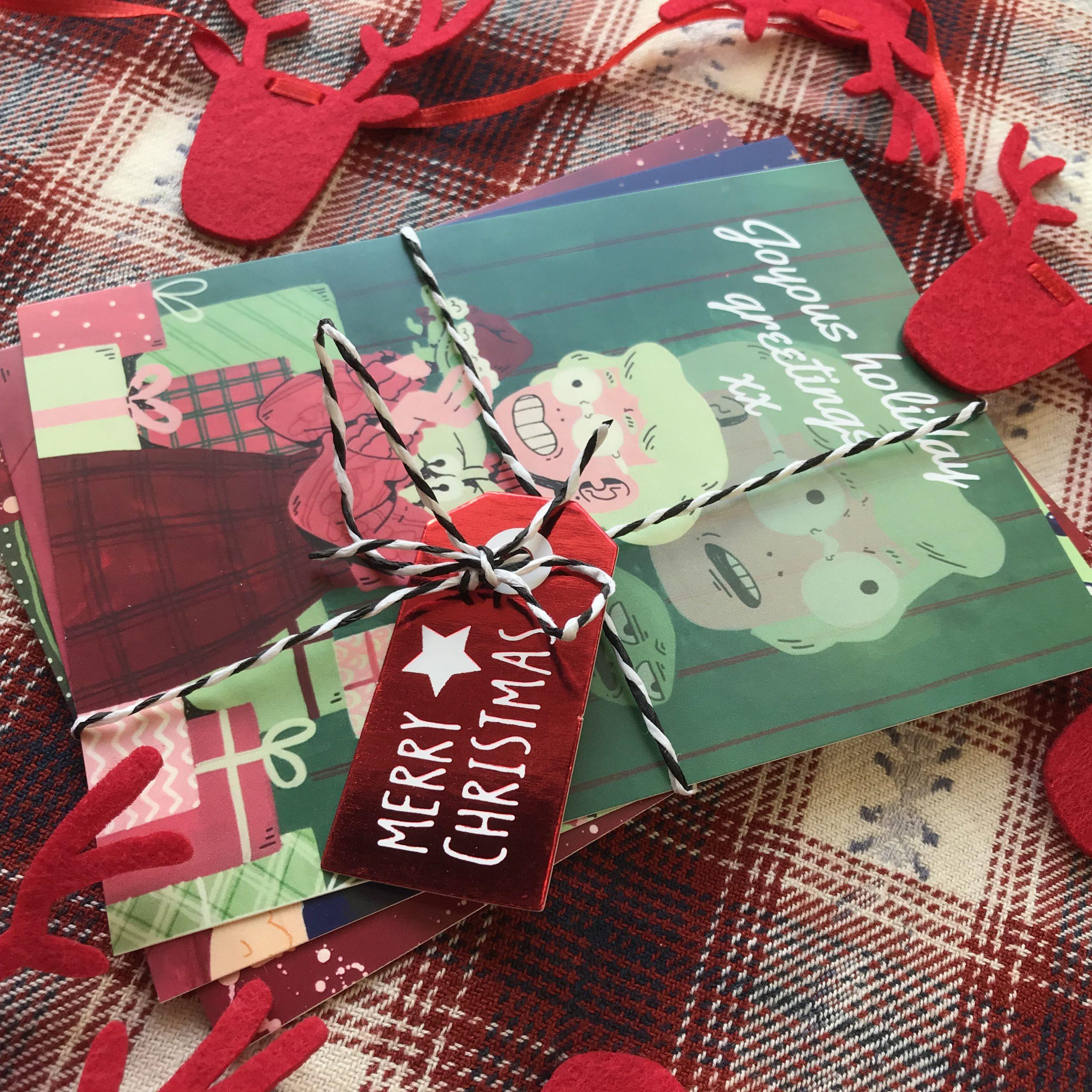Christmas cards (2020)